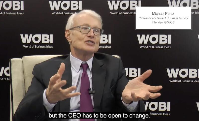 Michael Porter parla di Open Innovation
