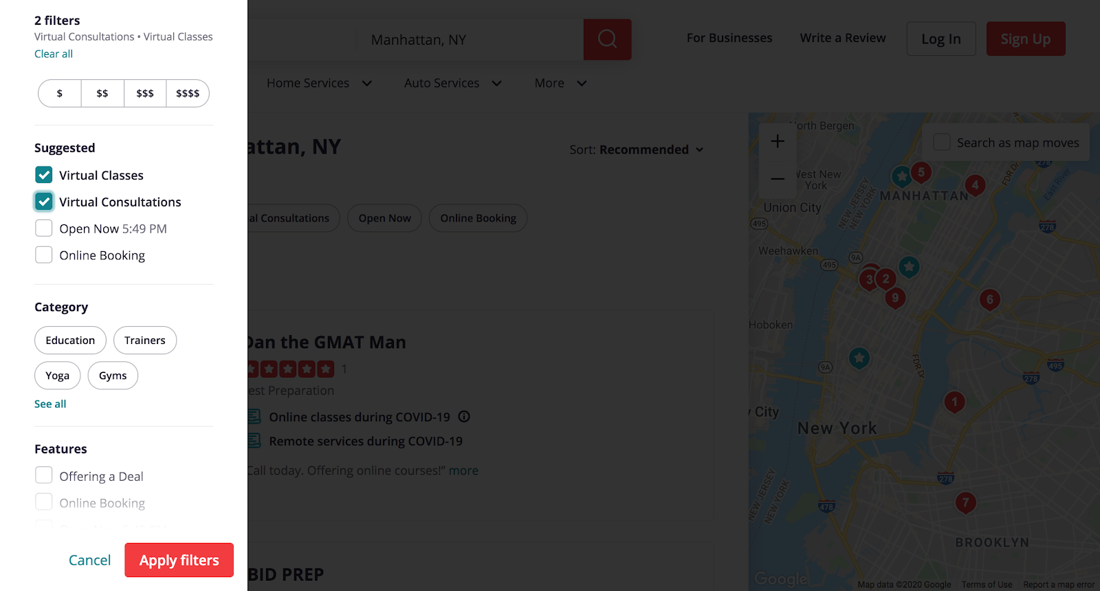 omnichannel arkage yelp
